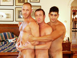 Gay Porn from OnTheHunt - Angelo-Drew-And-Trevor
