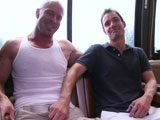 gay porn Mr Clean Gets Mean - Part 1 || 'So this weeks update we have one hunk of a man looking for some action. He's big bald and beautiful. After cruising around for sometime they spot some unsuspecting victim. He just hops on the bus and takes a seat without having any idea what he's gotten himself into. He's a little apprehensive at first but after a little smooth talking and bribery he's on his knees swallowing cock like a pro. Then he gets his manhole penetrated repeatedly.