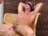 Austin Is a 24-year-old Guy Who Just Got Out of Firefighter School and Is Looking for a Job. He's Nervous About Doing a Hazing Video. Just Like Most Straight Guys, He Doesn't Think He Can Get It Up With Another Guy Touching His Cock. Getting It Up Was Absolutely No Problem! and Austin's Cock Is Great! He Tells Me Exactly What He Wants...