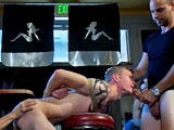 gay porn Girth Brooks And Cole  || Cole Brooks gets piss in the mouth by Girth Brooks and licks his cum off the dirty floor.