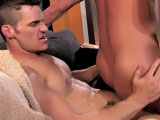 gay porn Indiscretion - Part 3 || Daniels takes a ride on Conrad's hard stick until he shoots.