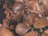 gay porn Leather Sexperience || Hot Intense Leather Action.