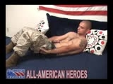 Gay Porn from AllAmericanHeroes - Hot-Horny-Battled-Marine-Gets