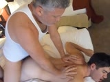 gay porn Training Gio || 'Soooooooo here is a fuck-video extraordinaire! We are so happy to finally introduce our sweet Italian boy, Gio - a 19-year old, lean and mean Italian boy-butt machine! This cutie has one of the hottest virgin asses we have had the pleasure of popping, and boy did we pop it! Gio contacted us and offered up his V-card a while back and we happily took him up on his sweet offer. He's been a long-time fan and has developed a taste for all things Maverick. He loves sweaty jock straps, dirty talk, eating man ass, and best of all; he loves the idea of being dominated. When I asked him what he wanted to do the most, he told us that for years he would watch our videos and dream about having sex with us. He would stroke and stroke to us every day and night and was so excited to make his fantasies become reality. We were both blown away (and flattered) by his candor.