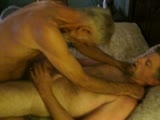 gay porn Hot Older 3way || Three Horny Tops Ravage a Hungry Bottom and Spay Him With Cum!!!