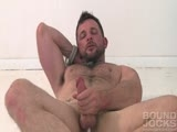 Horny Man Stroking His Cock || 