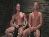 gay porn Patrick Tyler And Van  || Patrick Rouge is the second slave chosen for training. He is a power bottom and former military. He should do well. His handler is our very own Tyler Saint. I sometimes call him affectionately Mr. Tyler. No matter what, Tyler Saint has cock and muscles that won't stop. If you have seen Part One, the Cock's Creed and the Slave Positions are repetitive. They are annoying. They are used for the first slave training. I hope this is the last you will see of the Cock's Creed.