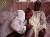 80gays Featuring Two Black African Twinks on Black Cock Worship
