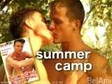 "rn""SummerCamp"" stars 11 breathtaking young men (and lots of nude extras) in a free-wheeling series of vignettes set at a campsite alongside the Little Danube River. Scenes of exuberant camraderie alternate with seven scorching couplings. It`s the campsite of their dreams! An"