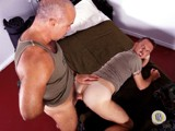 gay porn Raw Military Fuckers || Generals Taz Frazier and Allen Morgan Are Just as Experienced on the Battlefield as They Are on In the Bedroom. They Start With Some Rough, Hard Kisses. Morgan Goes Down on Frazier's Dick and Doesn't Come Up for Air. Frazier Preps His Tight Little Hole Up for His Bare Dick. He Spits In the Hole and Spreads the Saliva Around as Lube, Then Gets Ready for Insertion. He Fucks Frazier's Hole In Many Positions for a Long Fucking Time. It Looks Like Frazier Has Never Been Fucked so Hard by Such a Hot, Raunchy Daddy as He Moans and the Raw Dick Slides In and Out. the Friction Continues Until He Pulls His Raw Dick From the Hole and Shoves His Dirty Cock In the General's Mouth. He Shoots His Load as the General Guzzles That Jizz.