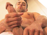 gay porn Golden Gate Episode 4  || The undeniably hunky Jeremy Bilding is one of the most in-demand porn stars working today and after watching his amazing solo performance here, you'll see why: movie star good looks, muscles for days, and a million-dollar smile. Standing on a the stairs of the beach house, Jeremy strokes his near-perfect cock until it erupts in a must-see hands-free cumshot. It's some seriously can't-miss hot stuff!