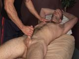 Brent Biscayne Can Barely Contain Himself as Chad Brock Our In-house Masseuse At Clubamateurusa Takes Hold of His Cock Tightly, Stroking His Meat Vigorously, Which Results In a Creamy Happy Ending.