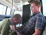 gay porn On Permanent Vacay - Part 1 || 'This week we pick up another unsuspecting victim. When he gets on the bus he's got no idea whats about to go down. He's all to eager to get a free ride but when the one eyed monster comes out he is shocked. Then he proceeds to gargle on the cock before letting it penetrate his tight ass.