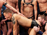 gay porn Alternate On Shane || All the guys alternately fuck Shane's face and lick his ass!