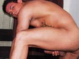 gay porn Armando Silva Busts A  || Armando Silva is a hot Brazilian-American who is finishing up his college career, and we finally managed to get him to take a day off to show us his big thick piece of Latin meat! After taking off his clothes and getting his juicy dick hard, Armando pumps it for all it is worth. We especially love his hairy butt and the way he rubs his beautiful pecs as he is getting himself off. Laying on the bed, he slowly strokes it up and down until he cums all over his beautiful bod. Hot solo!