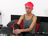gay porn Cute And Innocent Emo || This Red Head Emo Twink Teases Us and He Takes His Cock In His Hands Then Strokes It Long and Rough, He's Confident and Shows You Exactly What You Want to See.