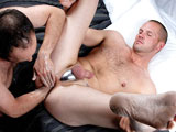 gay porn Daddy's Extreme Anal Copulatio || Talk about raunch! Hairy daddy Devyn Miles inserts various HUGE items into Tommy Rawlins ever expanding manhole with no problem. Notice Tommys got some metal restraint under his balls that seems to help keep his cock hard. Devyn then proceeds to fist and rim him for a long time--causing Tommys hole to expand in a way that you just have to see to believe!! He continues to blow that cock while he keeps punching his gaping rosebud...this video ain't for the squeamish, that's for sure!