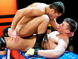 gay porn Logan Steps Up || Logan steps up & plows the hungry bottom like a pile-driver