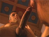 gay porn Fucking His Friend's D || Ettore Fucks His Best Friend's Dad. Salt and Pepper Gray Hair Vs. Ettore's Youth