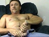 This Friendly, Jovial Trucker/jack-of-all-trades Was a Little Concerned About Doing This Shoot as He Has a Gay Son In the Area and He Was Afraid He Might See This Movie. He Must Not Have Been Too Afraid as He Certainly Was Willing. Great Cock Sucker and Has Come to Love Eating Cum. Comes by Now and Then for Another Mouthful.<br />