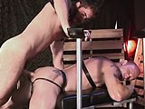 Hard, Big-dicked Raw Fucker Brandon Hawk Initiates Mason Garet.