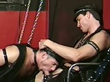 gay porn Submissive Slave Satis || Hot Hunky Slave Wastes No Time and Start Aggressive Hot Cock Sucking and He's Master Plunging His Dick Deep Into His Tight Ass, Bending Him Over and Start to Slams His Huge Fat Cock Into His Bare Ass and Doing Him Doggy.
