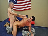 Civilian America Is Out for His First Time In San Diego, Enjoying and Experimenting With His New Sexual Freedom. America Has an Amazing Personality, Great Muscular Body, and a Massive Uncut Cock.