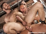 gay porn Tom Wolf Fucks Trent Locke || Tom Wolfe Doesn't Waste Any Time Getting Trent Locke Out of His Shirt. Tom Liked Making Out, but He Wanted to Work Trent's Nipples and Hairy Chest. Trent the Mouths His Way to Tom's Huge, Veined Tool for a Face Fuck. Tom Buries His Face In Trent's Hole for a Taste Next, Before Thrusting Forward Deep Into That Hole With His Rock-hard Cock.