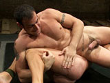 gay porn Patrick Rouge Vs Spenc || Two NK powerhouse are going at it head to head. Patrick Rouge and Spencer Reed are extremely competitive. Both are on a winning streak and neither wants to lose. Spencer is bigger and taller but Patrick has a fighting background. Whatever is not settled here today...