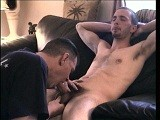 gay porn Straight Boy Jake Edge || the Horn-dog Returns and After Stripping Down He Strokes Up a Boner and Lets Me Go to Town on It. I Jerk and Suck His Cock, Bringing Jake Close Several Times Until He Finally Sprays All Over My Face, Practically Hitting the Ceiling With His Load!<br />