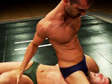 Gay Porn from nakedkombat - Brandon-Monroe-Vs-Derrek-Diamond