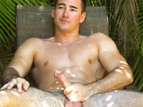 Kaleo - Handsome Hawaiian Furry Jock Busts a Nut Outdoors!