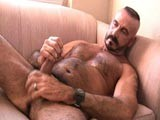 Vince Is One Hot Bearish Daddy, Nice Broad Hairy Chest Backed Up by a Very Nice Cock That Is Always Ready for Action - Orginally Scheduled to Do a Fuck Scene With Another Model We Had Him Show Off His Solo Skills When the Other Model Failed to Show.