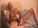 gay porn Mike Jerks And Plays W || Mike Is One Smoking Hot Silverdaddy, He Loves Getting Down and Dirty With His Toy Collection as He Jerks Off That Big Hard Mature Cock of His. We Asked Him to Give Us a Show of How He Normally Entertained Himself and He Was More Than Happy to Show Us a Jerk Off Session.