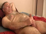 Sammy Is One Very Sexy Silverbear and He Just Loves Jerking Off and Playing With His Toys so When We Asked Him to Show Us Exactly How a Normal Jerk Off Session Plays Out for Him He Was Happy to Show Us and Boy Did He Have a Good Time!