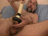 gay porn Daddy's Strange Jerkof || Daddy Drube Wanted to Show Us His Jerk Off Toy and as We Love Showing Off How Mature Guys Jerk Their Cocks We Taped It to Show the World. Drube's Toy Worked Wonders on His Cock as He Spilled His Seed Fairly Fast!