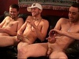 the 3 Construction Buddies Finally Got Up Enough Nerve (and Had Enough Liquor) to Do This Session. There's No Sex Between Them, Just Good Ol' Boy Silliness and Rough-housing. This Was Blake's Last Day In Atlanta and They Had Been Celebrating for Some Time. Three Great Guys!<br />