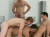 gay porn Army Bullies Soggy Bis || Hanging Out In the Barracks a Group of Dominant Army Men Pick on a New Recruit and Make Him Join Them In a Game of Soggy Biscuit. Only These Cruel Masters Don't Play Fair. They Tape Up His Hands so He Can't Easily Stroke Himself. Mercilessly Bullying Him They Make Him Play With Himself While They Strip Down Fully Naked to Reveal Their Muscular Perfect Bodies and Shove Their Cocks In His Face. These Dominant Men Are Aroused by Getting Out Their Angry Aggression on the Useless Captive Recruit Who Is Spitroasted and Then Has to Gobble Down a Biscuit Covered With the Hot Loads of Three Hard Army Men.