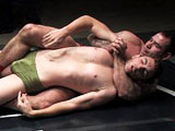 gay porn Tj Young Vs Dak Ramsey || TJ Young has martial arts experience and a polite demeanor. Too bad he's matched up with brute brawler Dak Ramsey! TJ is looking forward to a good match and is used to the controlled sparring ring of a martial arts studio. Dak is used to bar fights where it's all about doing whatever it takes before getting caught. But what will happen when both fighters' believe their strengths to be on the ground? The prevalence of slams, holds, chokes, submissions, and hard cocks in this fight make it one to definitely not miss.