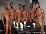 gay porn Pleasure Boi || It's Bareback Gangbanging Time, and Have We Got the Crew to Do It. You Won't Want to Miss a Second of These Big, Fat, Black Dicks Spliting Apart Ass Raw. It's Condomless Cock At Its Very Best.