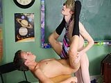 gay porn Boring Detention || Damien Telrue and Dustin Revees Are Very Bored In Detention. Dustin Decides He'll Do His Best to Make Poor Damien Nervous but Damien Is Up for the Challenge!