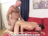 Bronson Gates Is Giving Parker London a Sensual Massage and He Wants to Make Sure Parker Has a 'happy Ending.' Parker Flips on His Back and Bronson Immediately Swallows Parker's Cock Down to His Balls. Bronson's Tongue Finds It's Way Down to Parker's Tight Ass. He Aggressively Eats and Rubs His Entire Face All Over Parker's Hole. Worked Up, Bronson Rips Off His Underwear so Parker Can Have a Go At Sucking a Hard Cock. Parker Doesn't Hesitate and Takes Every Inch of Bronson Down His Throat. Ready to Be Fucked, Parker Bends Over and Bronson Shoves His Thick Dick Inside Parker's Tight Butt. He Fucks the Cum Right Out of Parker Who Shoots His Load All Over His Stomach. Bronson Gets Comfortable Next to Parker and Strokes Himself Until He Cums, Too.