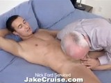 gay porn Nick Serviced || I Introduce a Lot of Hot Young Guys on My Site, but Every Once In Awhile It's a Nice Change to Have Someone Who's Already In the Biz Drop By. Nick Ford Has Already Established Quite a Name for Himself and Now I'm Lucky Enough to See (and Taste) What All the Hubbub Is About! Nick Has a Nice, Tight Body and a Thick Cock He Just Loves Thrusting Down My Throat. He's Also Very Flexible. I Suck His Cock and Toe At the Same Time! After That I Throw Nick's Legs Back and Tongue That Sexy Asshole of His. He Even Lets Me Finger Bang His Hole! All of My Hard Work Is Rewarded With a Tasty Facial of Nick's Cum.
