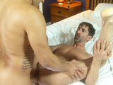 gay porn Tony Vega And Reed Mat || Daddy Reed Mathews thinks he's gonna get some of Tony Vega's sweet, juicy ass but Tony has a better idea and turns the tables pretty quickly. Before Reed knows what's up - his legs - Tony is sinking his fat uncut cock up his tight hole! Oh, those spontaneous boys!