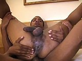gay porn Stud Gets Lucky || a Horny Stud Gets Lucky When Not One but Two Hot Men Fuck Him - At the Same Time!<br />