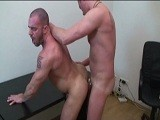 Niklas Is Cruising the Net for Some Action When In Walks Muscle Bound German Stud Jorge. He Locks the Doors, Draws the Blinds and the Two Incredible Looking Men Get Down to Some Hot Cock Munching, Fucking and Cum Slinging.<br />