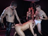 "gay porn Daddies Sharing The Loads || In the Sling We Have John Who Is Being Fed a Nice Cock Down His Throat by Ray. Coby, Who In This Movie Is the Pro At Eating Ass, Has His Tongue Buried In John's Hole. John Is Finger Fucked and Then Coby Inserts His Beautiful Cock and Rides for a While Before Changing Places With Ray. These Guys Change It Up and Each Take Their Turn to Drive Their Hard Cocks Deep. as Coby Fucks John, Ray Mounts Coby and Rides His Ass. This Scene Is Hot and the Guys In It Are Moaning and Groaning and Seem to Be Definitely Enjoying the Fuck. We Are Rewarded At the End With Coby Shooting Once ""on"" John's Hole and Then Finishing ""in"" John's Hole. Coby Then Licks His Cum From John's Hole. Ray Straddles John's Head and Shoots All Over John's Face. Ray Licks All Over John's Face and the Two Share the Tasty Load. Download the Full Video In the Highest Quality At Daddyraunch"