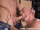gay porn Erik Rhodes And Samuel Colt || <br />studly Samuel Colt Is Working In the Porn Stock Room Preparing Shipments, When Big, Beefy Erik Rhodes Appears, Bringing Some Boxes. Before Long Erik Is Gagging Himself Willingly With Erik's Tool for an All-star Blow Job. Soon It's Muscled Man Pounding Into Muscled Man the Grunt and Groans Growing Louder as Samuel Lays Erik's Back on the Table and Puts His Leg In the Air so He Can Really Slam Him Deep. <br />