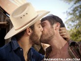 <br />colby Keller Joins Chris Porter and Tommy Defendi for a Cowboy-themed Threeway Fuck In This Video. Colby Wakes Chris From His Nap by Running His Hand Up Chris's Leg. Colby's Thick Hard Cock Is Out of His Pants Quickly and Chris Turns His Head to Swallow It Up, and Lick on Colby's Balls. Tommy Is Watching From a Distance, but Fixing the Truck Can Wait for Now. He Heads Over and Then These Farmers Really Start Plowing.