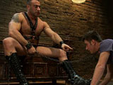 gay porn Max Gunnar And Spencer || 19 year old boy gets his BDSM cherry popped by Spencer Reed